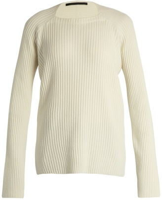 HAIDER ACKERMANN Invidia wool and cashmere-blend sweater $1,010 thestylecure.com