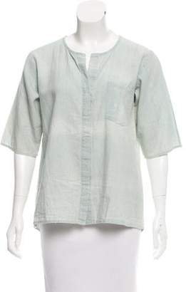 Frame Oversize button-Up Top w/ Tags