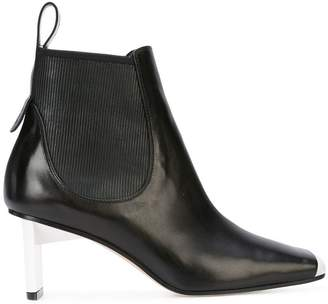 Loewe square toe ankle boots