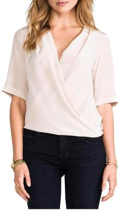 Amanda Uprichard Lana Drape Top