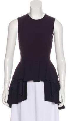 Alexander McQueen Ruffle-Accented Sleeveless Top w/ Tags