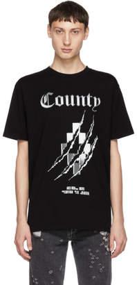 Marcelo Burlon County of Milan Black Cross T-Shirt
