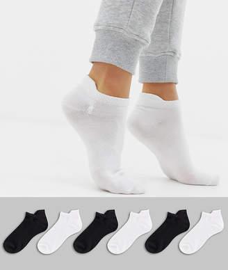 Polo Ralph Lauren mono 6 pack socks