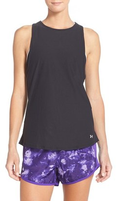 Women's Under Armour 'Coolswitch' Heatgear Running Tank $40 thestylecure.com