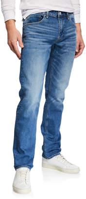 Vigoss Men's Lennon 341 Straight-Leg Light-Blue Denim