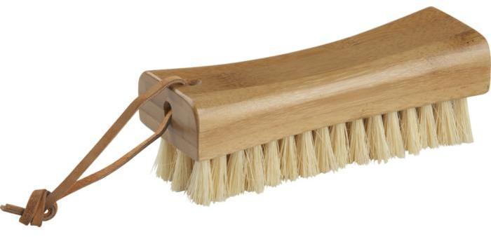 Bamboo Scrub Brush