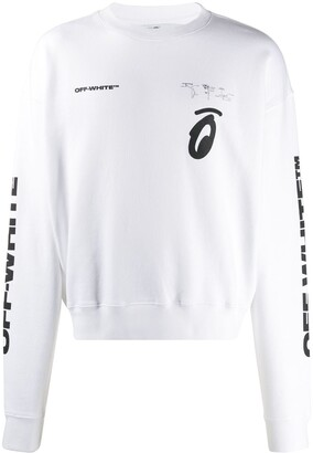 Off-White logo printed sweatshirt