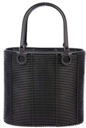 Salvatore Ferragamo Gancini Cage Bucket Bag