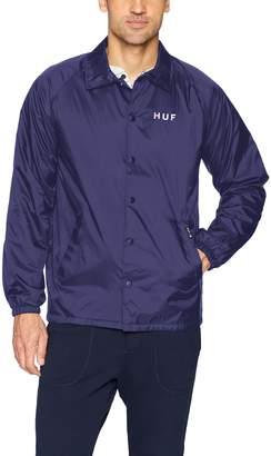 HUF Men's Gradient Og Coaches Jacket, 2XL