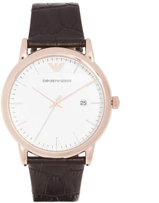 Emporio Armani Luigi Slim Watch, 43mm