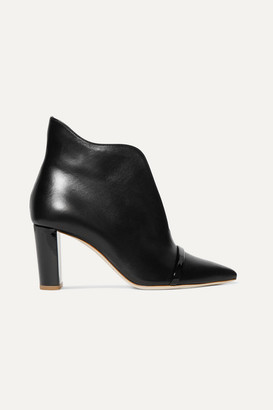 Malone Souliers Clara 70 Leather Ankle Boots - Black