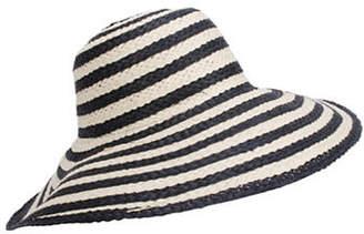 Nine West Striped Floppy Hat