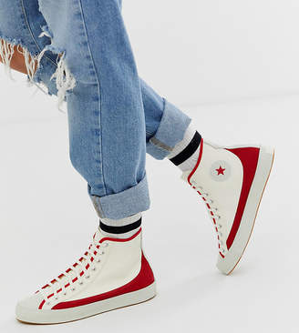 Converse Chuck Taylor Sasha Vintage red and white sneakers