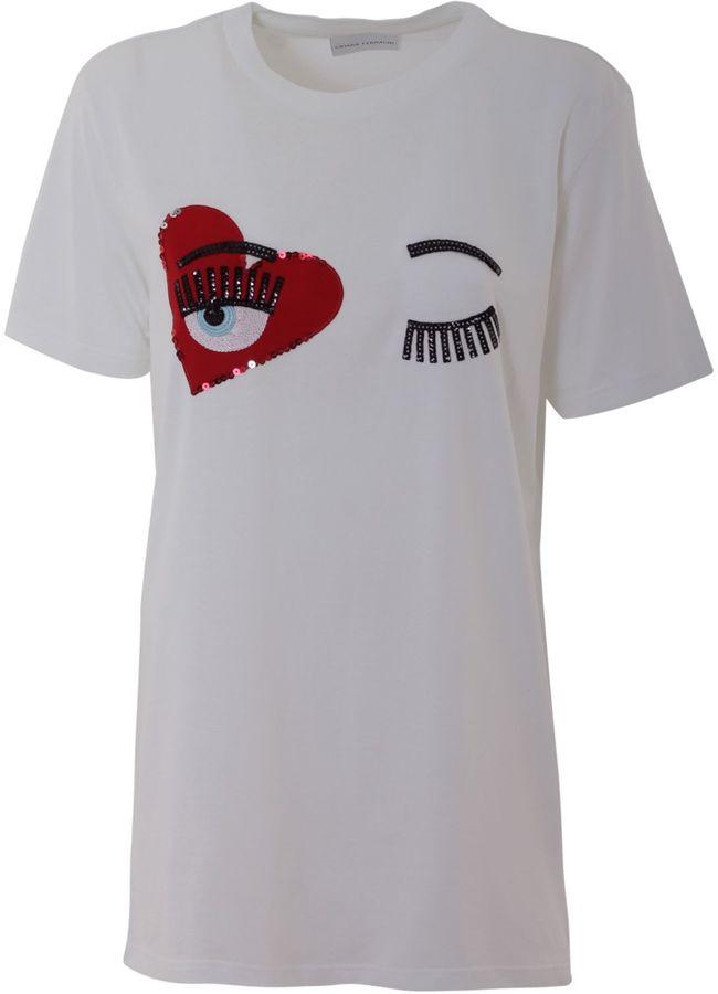 Chiara FerragniChiara Ferragni Cotton T-shirt