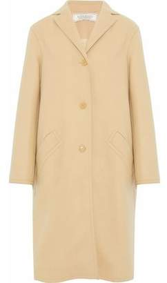 Nina Ricci Brushed Wool-Blend Coat