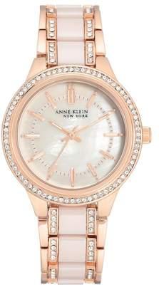 Anne Klein Women's Ceramic Bracelet Watch, 36mm