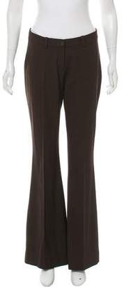 Michael Kors Virgin Wool Mid-Rise Pants