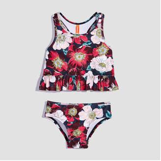 Joe Fresh Toddler Girls Ruffle 2 Piece Swimsuit
