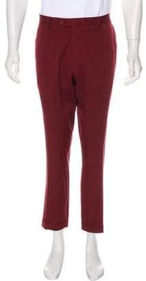 Bottega Veneta Virgin Wool Cuffed Pants