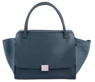 Celine Double Zipper Trapeze Bag