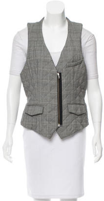 Boy. by Band of Outsiders Wool Quilted Vest $95 thestylecure.com