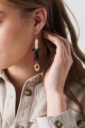 MANGO Paula Earrings Gold