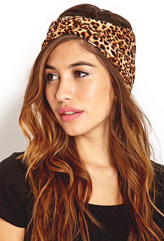 Forever 21 Jungle Queen Knotted Headwrap