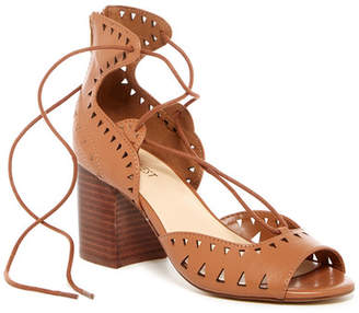 Nine West Jinxed Ghillie Sandal $99 thestylecure.com