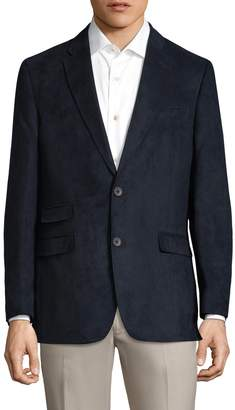 Tommy Hilfiger Men's Sueded Notch Lapel Sportcoat