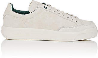 adidas Men's BNY Sole Series: Men's Rod Laver Suede Sneakers - White