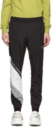 Diet Butcher Slim Skin Black Embroidery Lounge Pants
