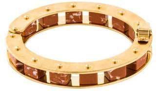 Lele Sadoughi Hinged Slider Bracelet