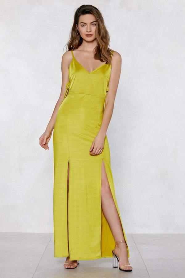 nastygal Long Term Maxi Dress