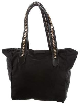Stella McCartney Eco Nylon Falabella Tote Black Eco Nylon Falabella Tote