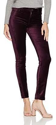Paige Women's Hoxton Velvet Skinny Jeans