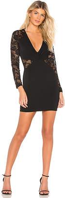 by the way. Ashton Sheer Lace Mini Dress