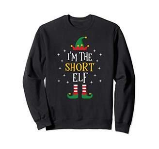 I'm The Short Elf Sweatshirt Funny Xmas Gift Family Group