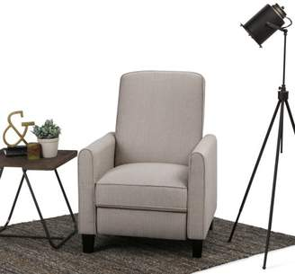 Simpli Home Corey Push Arm Recliner