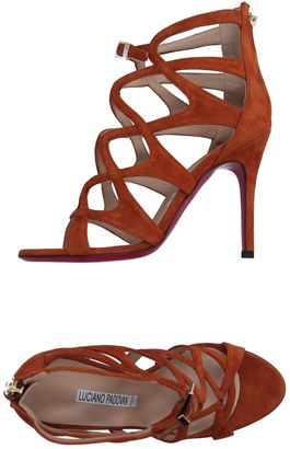 LUCIANO PADOVAN Sandals $405 thestylecure.com