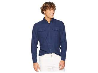 Original Penguin Long Sleeve Jasper Flannel - Stretch Shirt