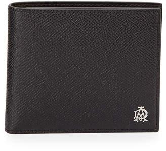 Dunhill Bourdon Leather Bi-Fold Wallet, Black