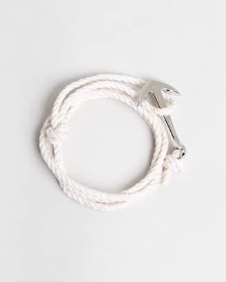 Miansai Anchor On Rope Bracelet