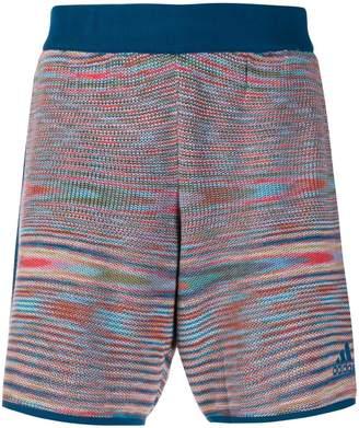 adidas knitted bermuda shorts