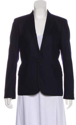 Saint Laurent Wool Peak-Lapel Blazer