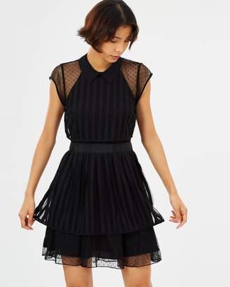 Maison Scotch Double Layer Boho Dress