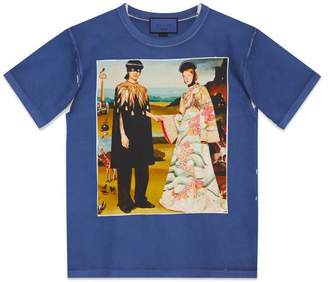 Gucci Oversize T-shirt with Bosco and Orso