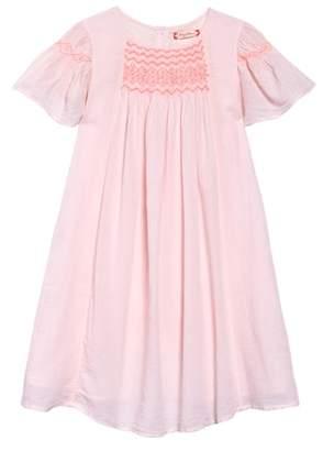 Ruby & Bloom Neon Smocked Dress