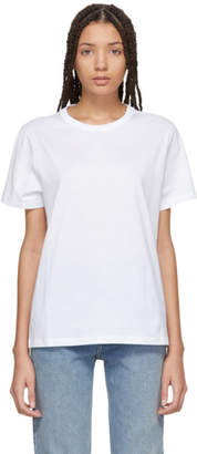 Moncler White Crewneck T-Shirt