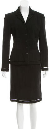 Chanel Wool Skirt Suit $775 thestylecure.com