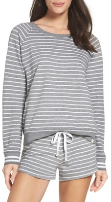 Women's Honeydew Intimates Burnout Lounge Sweatshirt $54 thestylecure.com